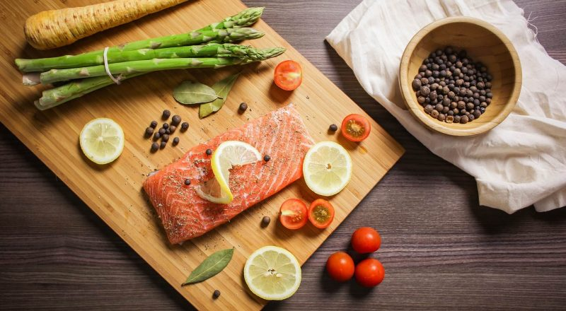 L'accompagnement pour un saumon au four